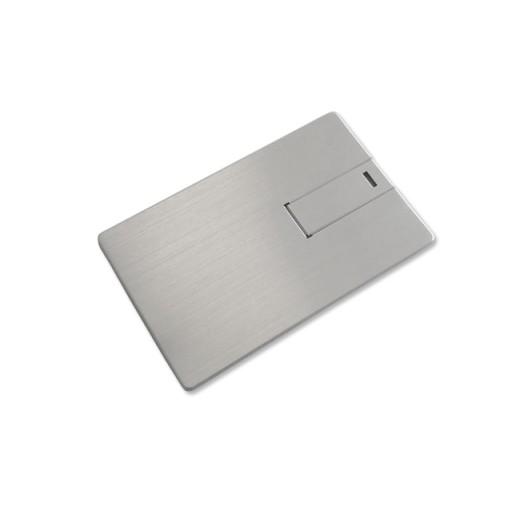 Modell Credit Card 5 Alu WebKey Silber Bild 1