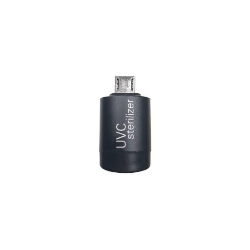 Mini UVC LED Smartphone Sterilisator-TYP-C  Schwarz Bild 1