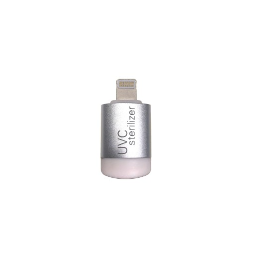 Mini UVC LED Smartphone Sterilisator-Lightning  Schwarz Bild 1